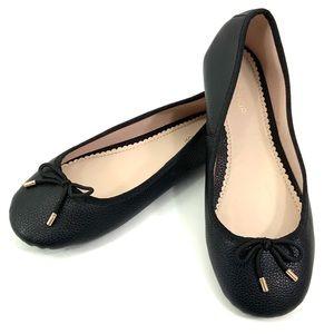 TOPSHOP Size: 6.5 Black Ballet Flats Slip-ons CL2
